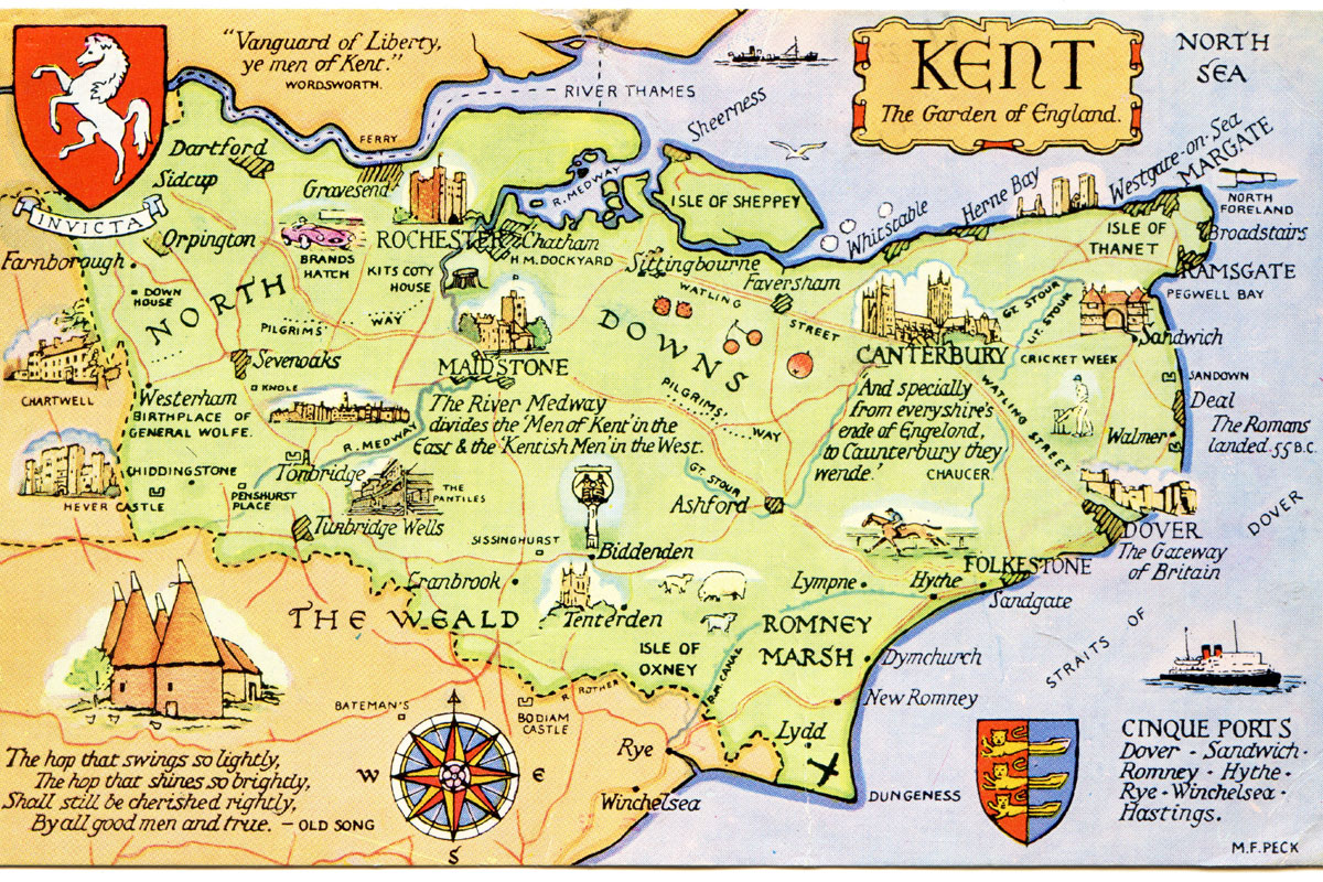 A Journey in Kent with Eleonora